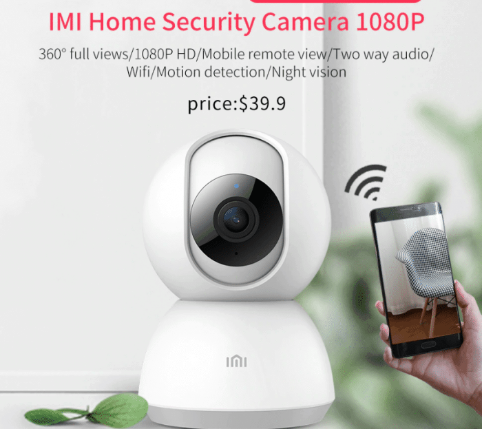 xiaomi home security camera