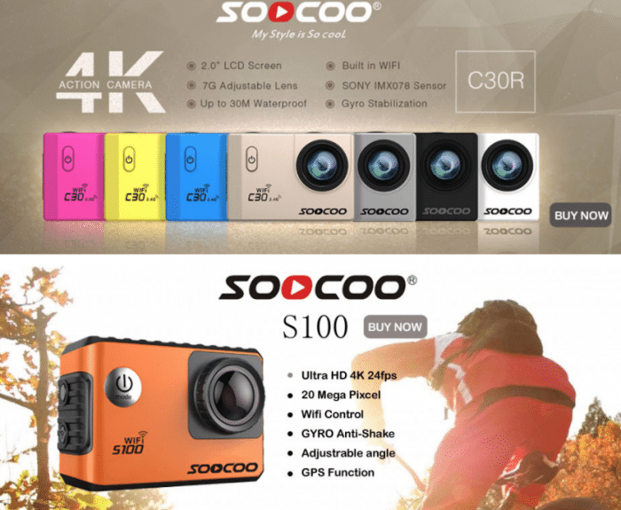 SOOCOO S300 Action Camera