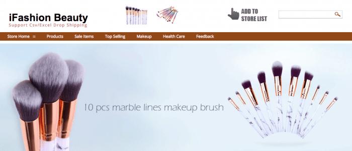 melhor vendedor de maquiagem aliexpress
