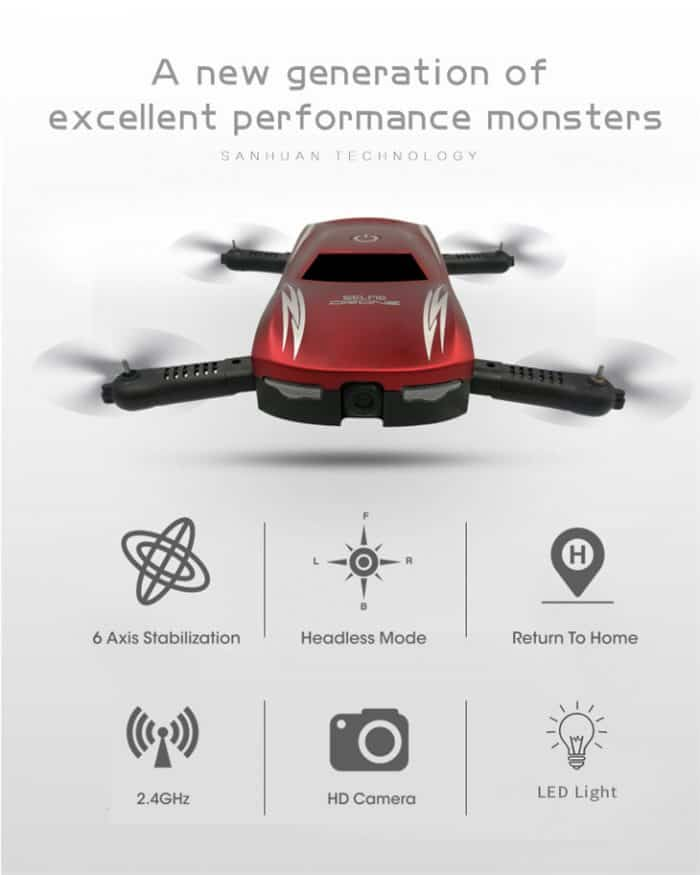 best aliexpress product selfie drone