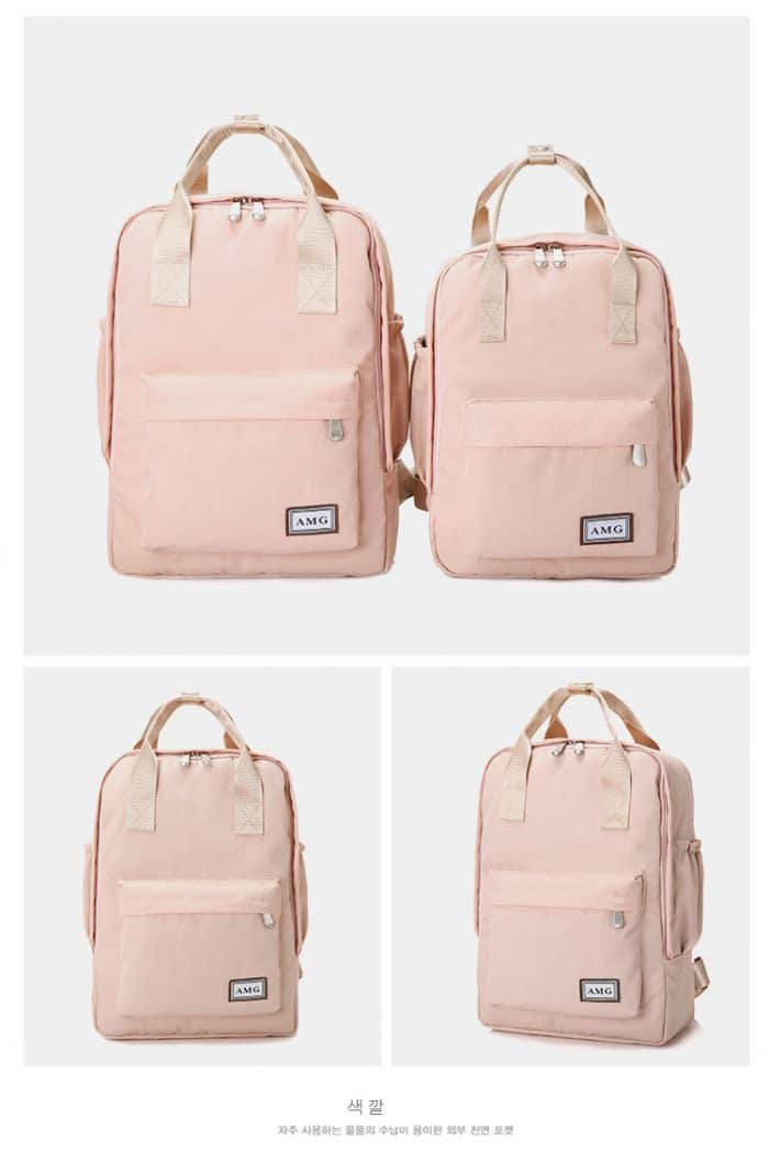 fashionable teenage pink bags