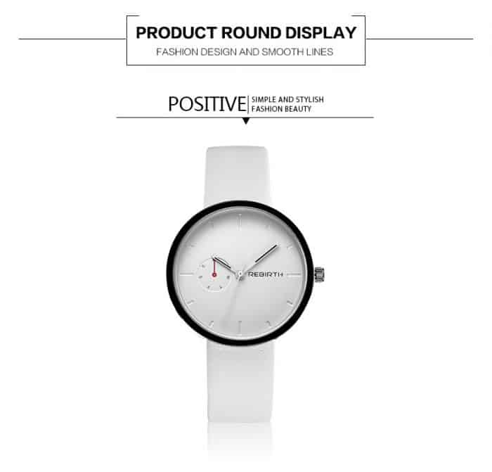 minimalist women watch fashinable