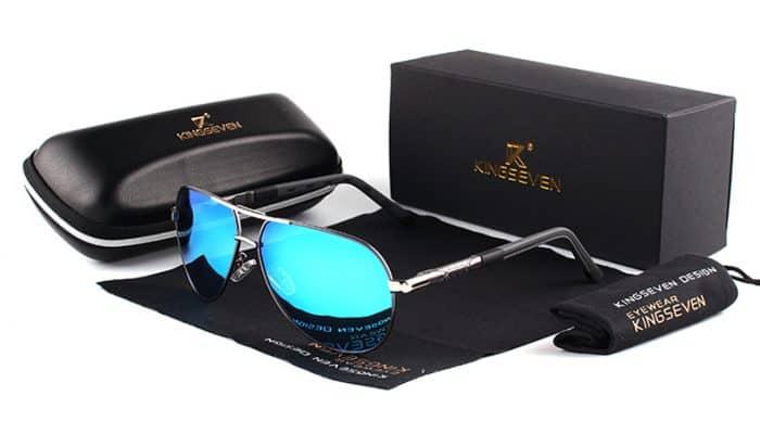 a00ba85b991 Last but not least is the  KINGSEVEN Men Vintage Aluminum HD Polarized  Sunglasses Classic Brand Sun glasses Coating Lens Driving Shades For  Men Women .