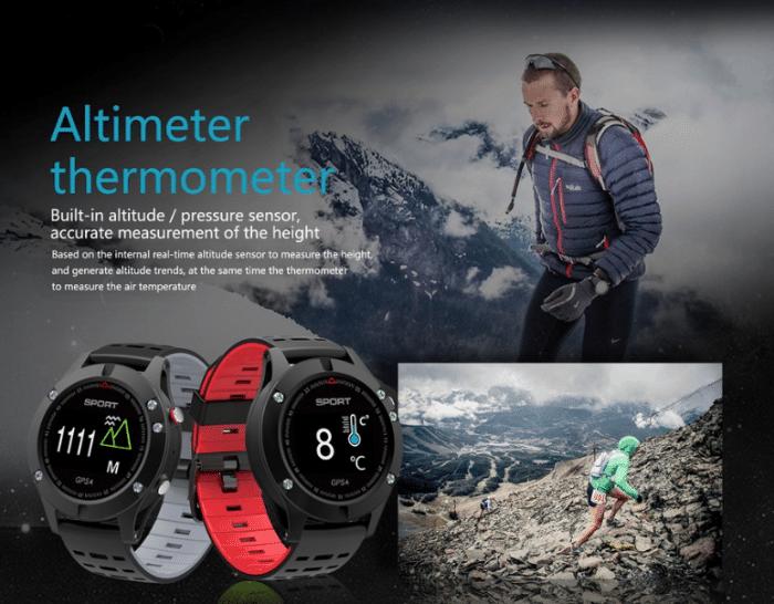 GPS Smartwatch Höhenmesser Barometer
