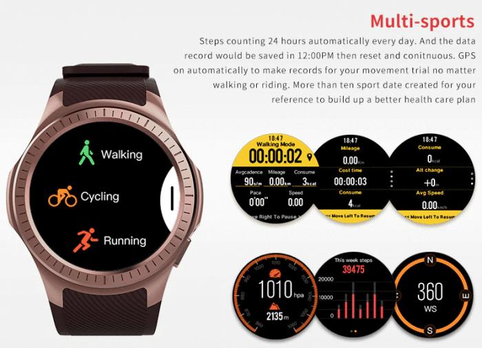 псевдоэкспресс Bluetooth-устройства Smartwatch