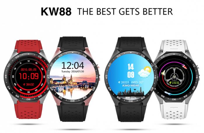 часы с андроидами kw88
