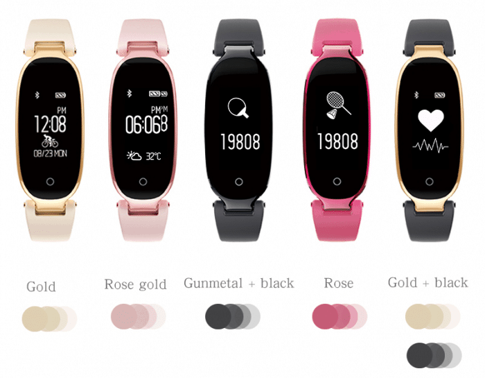 mujeres SmartWatch aliexpress Review