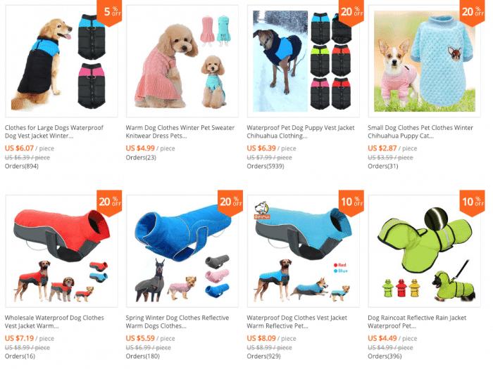 cheap chinese dog wear store