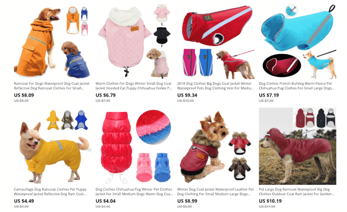 best aliexpress dog clothes