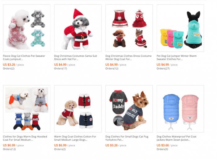 cheap dog coats online