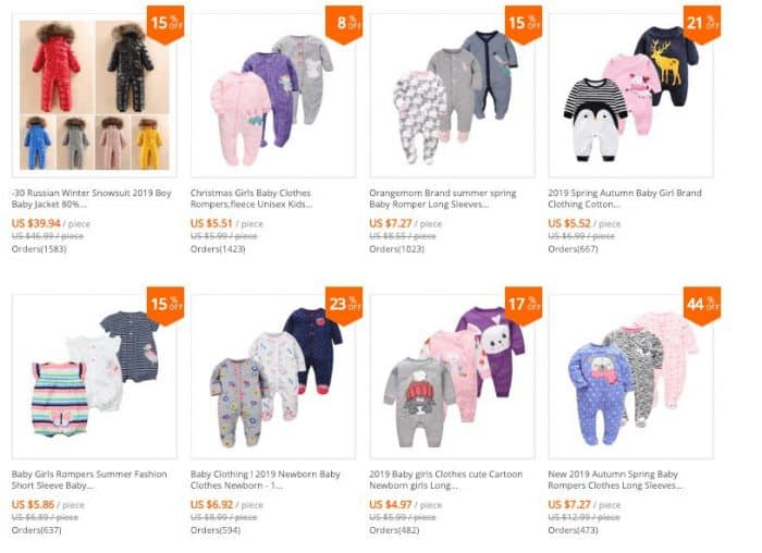 aliexpress baby girl clothes review