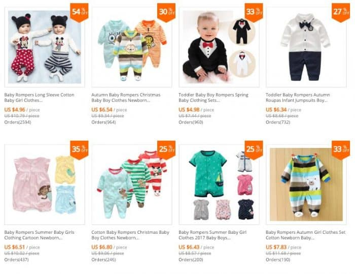 aliexpress baby clothes store