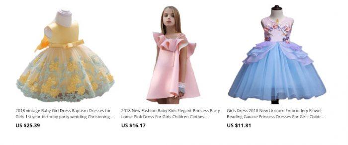 aliexpress children dresses for girl