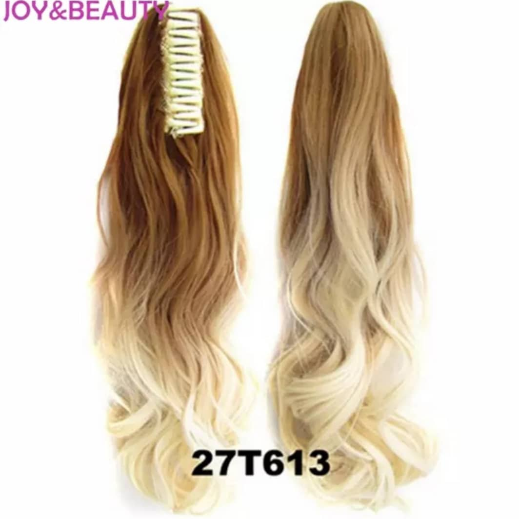 Synthetic Hairpiece Heat Resistant Ponytail