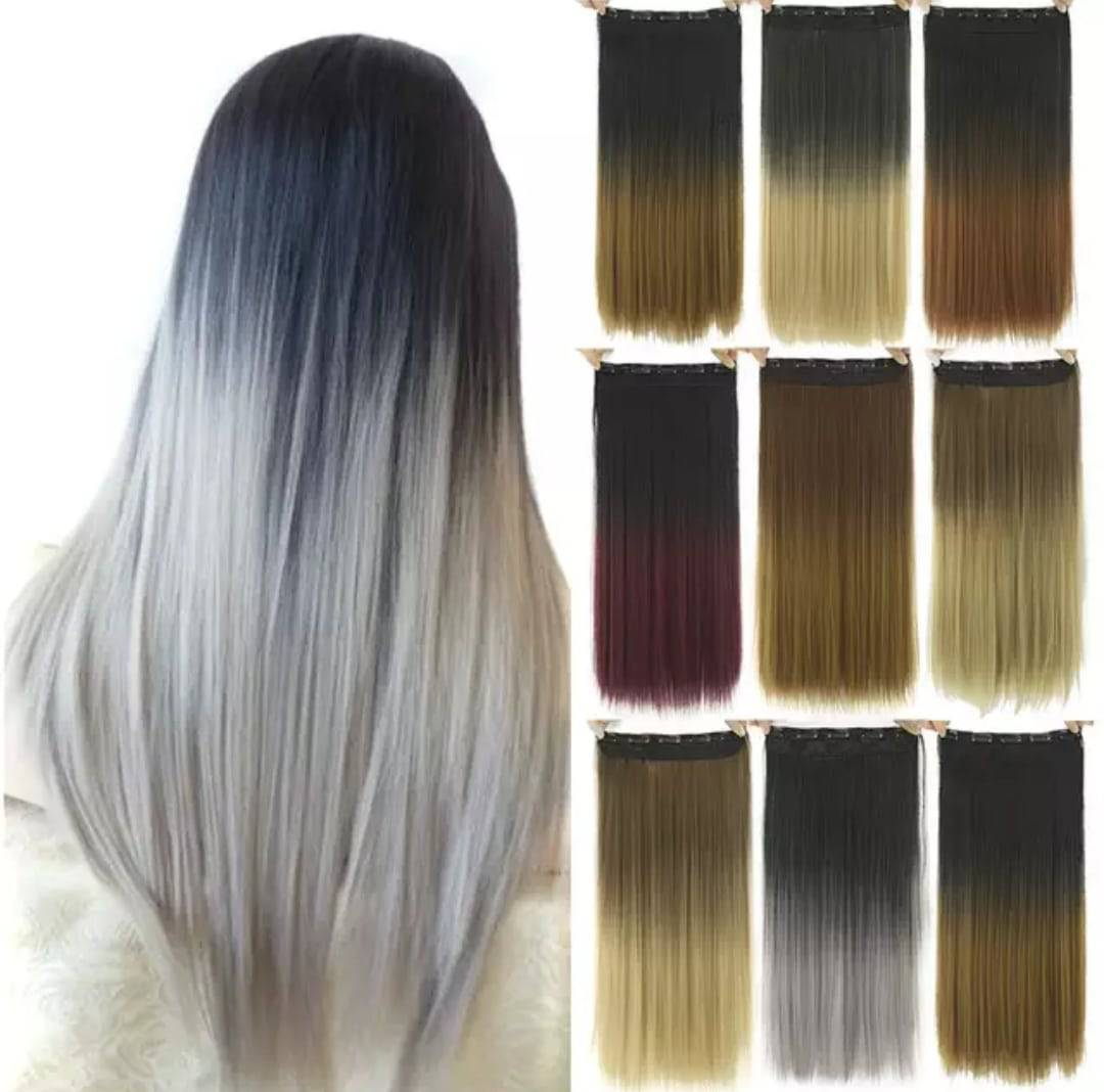 Natural Color Women Ombre Hair