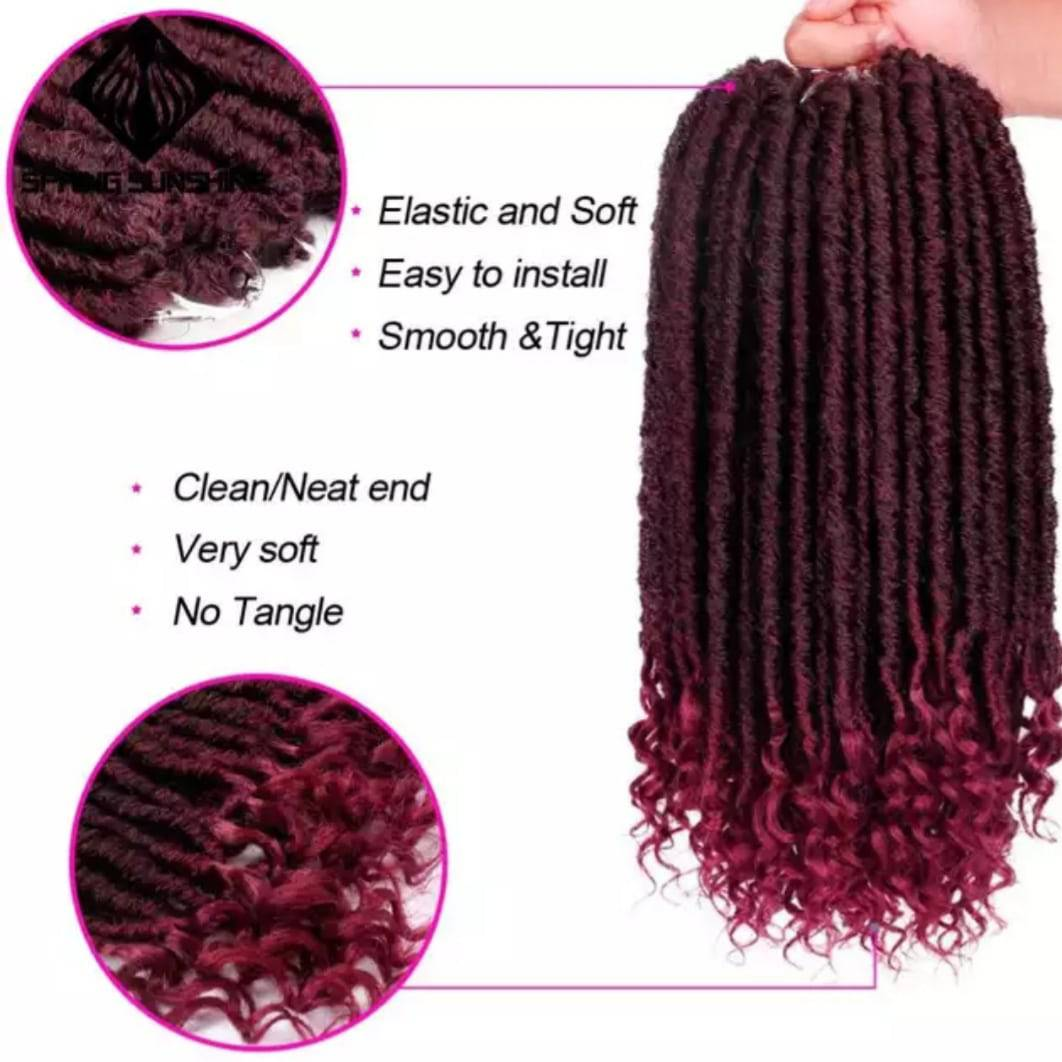 Synthetic Hair Extension 24 Strands/Pack