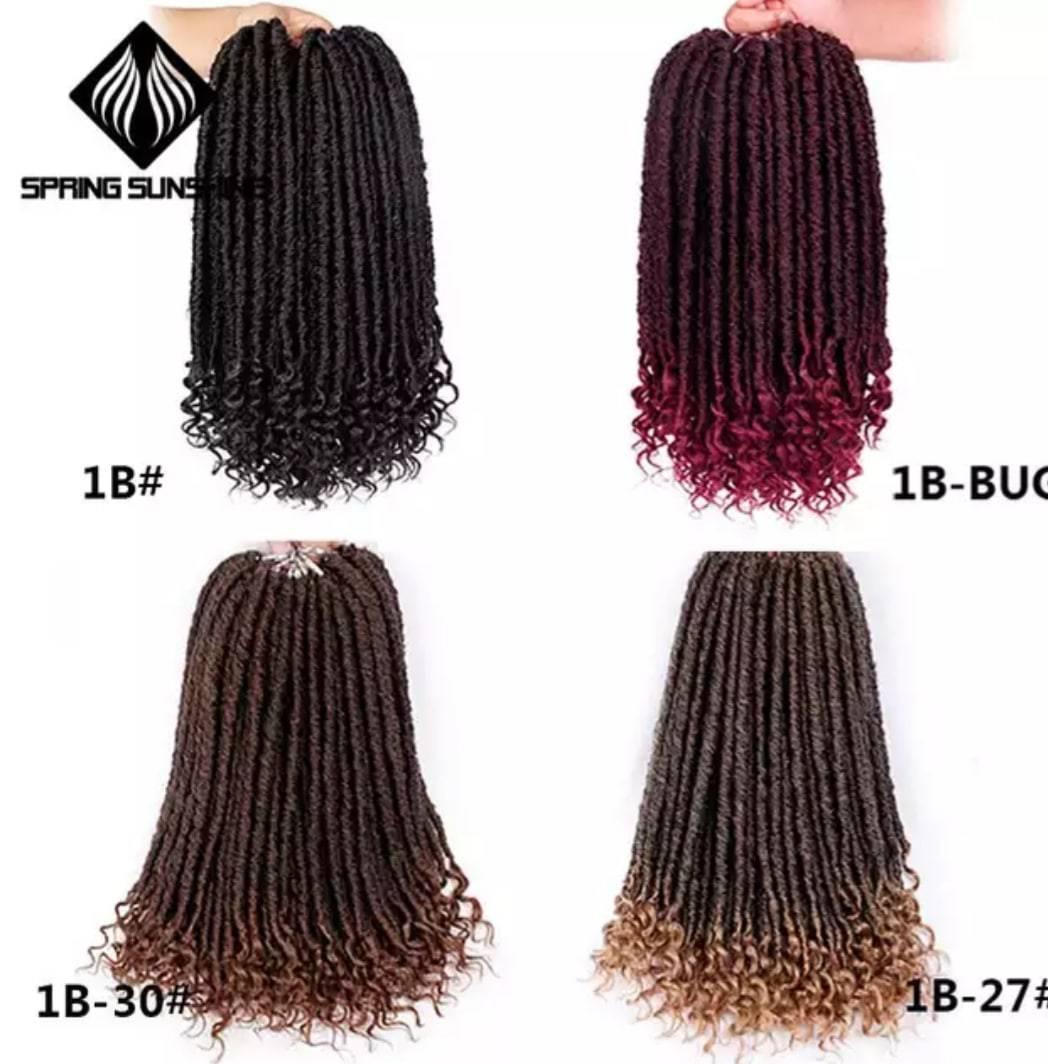 Crochet Braids Soft Natural hair extension