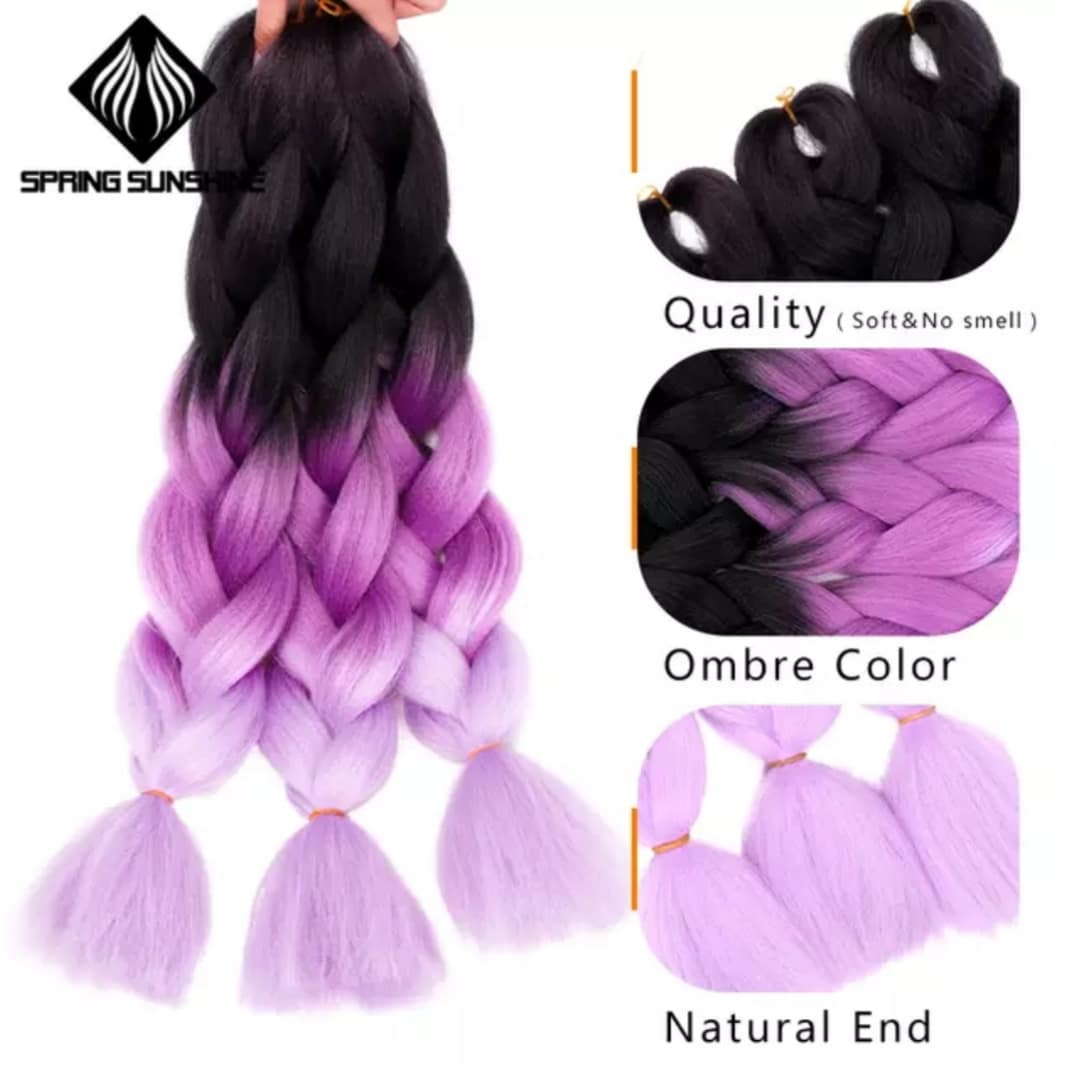 Ombre Crochet Braiding