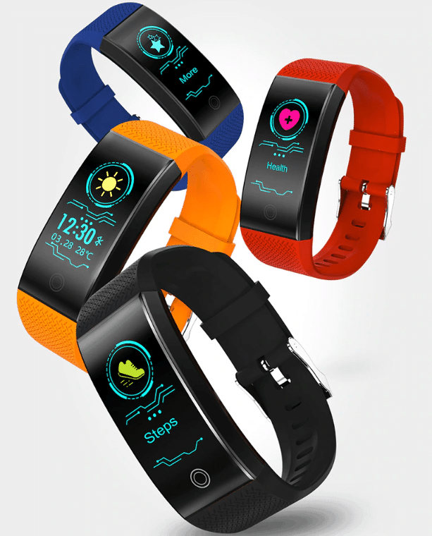 Rastreador de fitness barato con monitor de frecuencia cardíaca