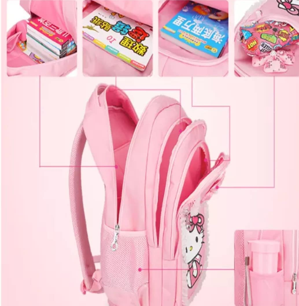 hello kitty bags for kindergarten