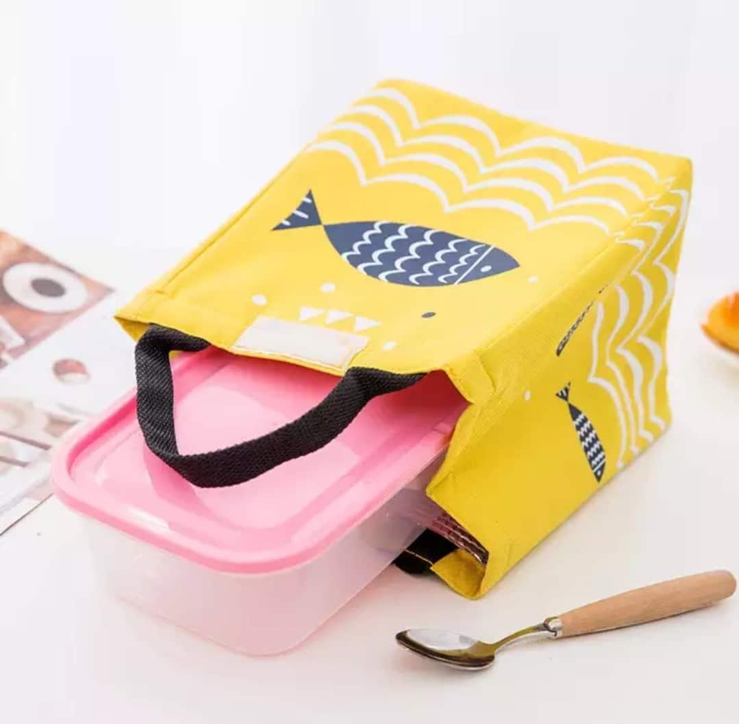 Large Capacity Thermal Food Picnic Lunch Bags for Women kid Men