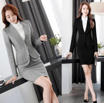 Formal wear suit for women