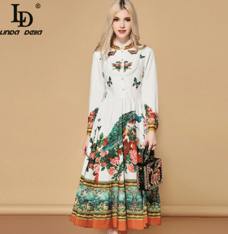 floral print dress awesome