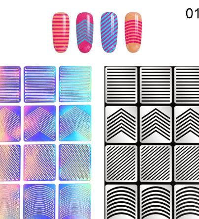 contemporary nail design