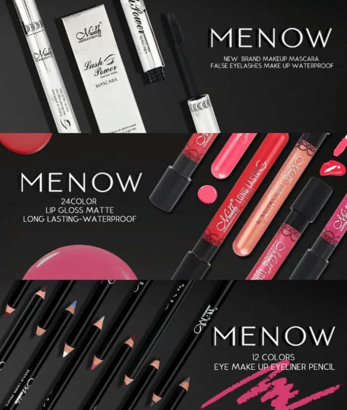 menow branded makeup store