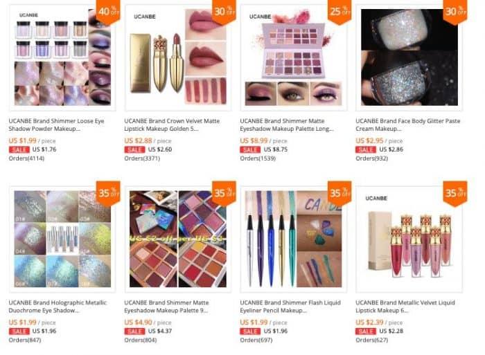 top selling makeups aliexpress 2019