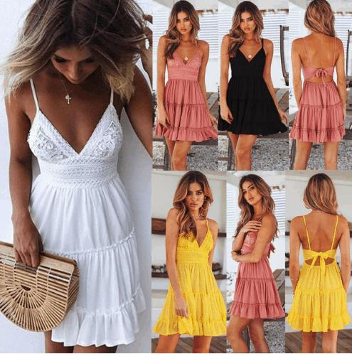 beach summer dress cheap