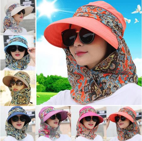 scarf summer hat
