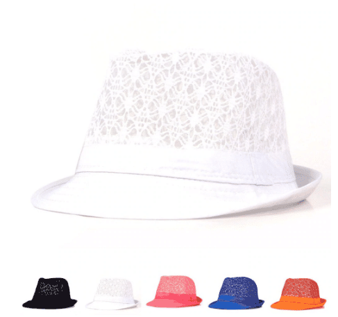 lace summer hat