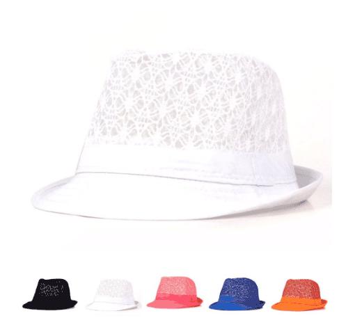 lace summer hat