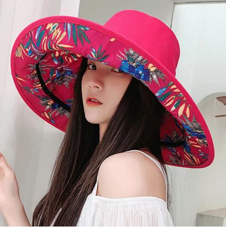 travel summer hats