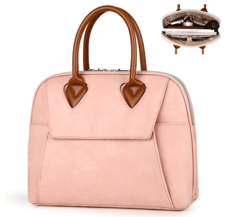 pink working bag for female lawyers