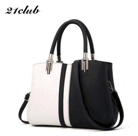 black white bag for female lawyers