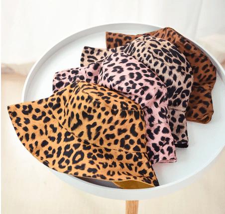 leopard summer hats