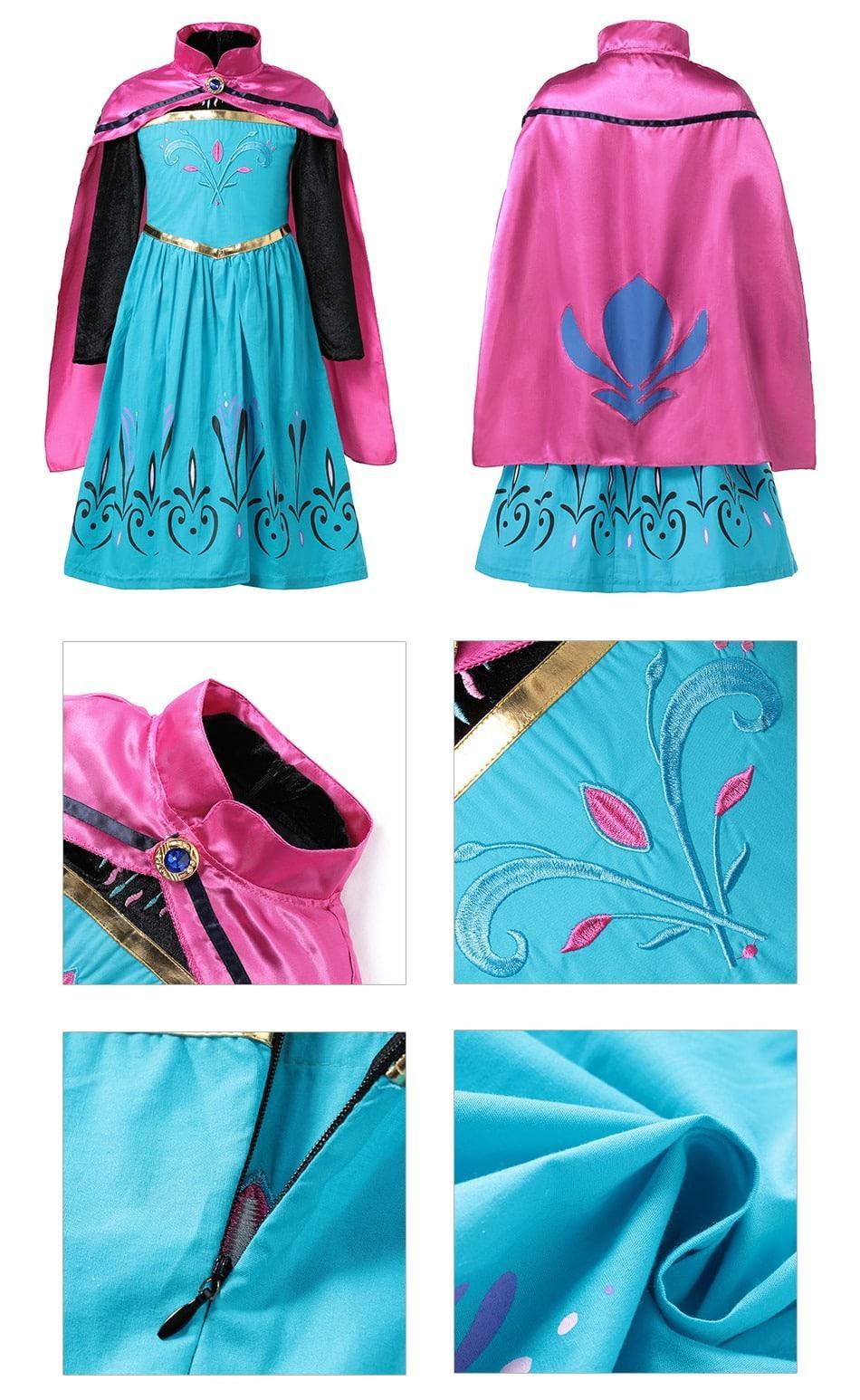 Elsa Dress kids gift