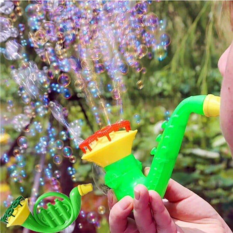 Random Color Water Blowing Toys Bubble Soap Bubble Blower Outdoor Kids Toys Parent-child Exchange interactive toy wholesale JE06 (1)