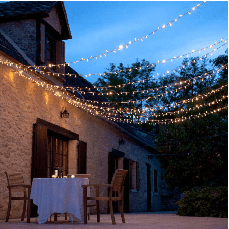 fairy lights for wedding