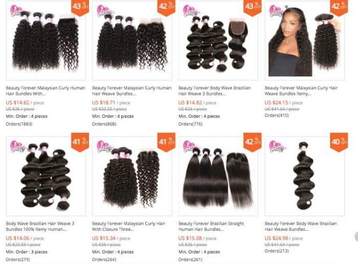 trusted aliexpress hair seller