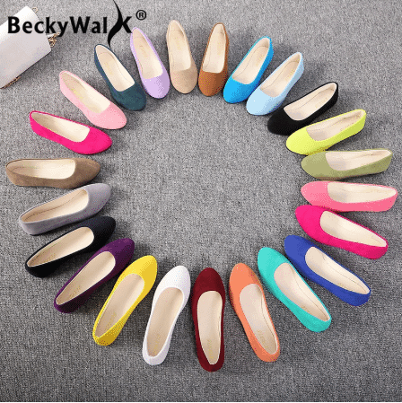 best flat shoes aliexpress