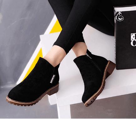 trendy ladies boots for dresses