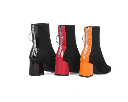 fashion high heels boot