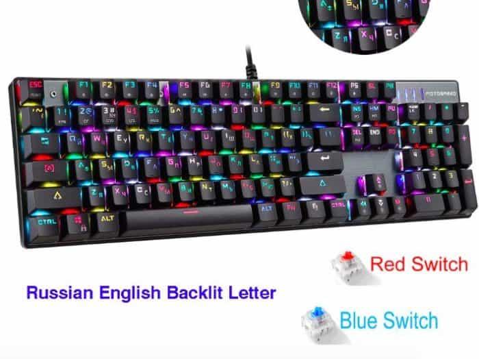 gaming keyboard aliexpress