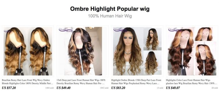 lace wig seller
