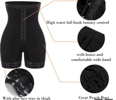 high waist shapewear