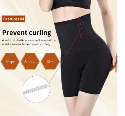 elastic tummy control shapewear