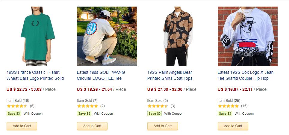 clothing seller dhgate